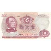 Norvegija. 1975 m. 100 kronų