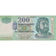 Vengrija. 2003 m. 200 forintų