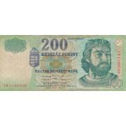 Vengrija. 1998 m. 200 forintų