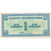 Austrija. 1944 m. 1 šilingas