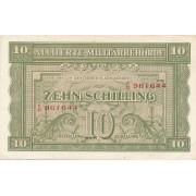 Austrija. 1944 m. 10 šilingų
