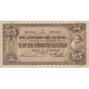 Nyderlandų Indija. 1931 m. 25 guldenai