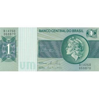 Brazilija. 1980 m. 1 kruzeiras. P191Ac. UNC