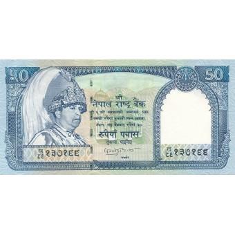 Nepalas. 2002 m. 50 rupijų. P48b. UNC