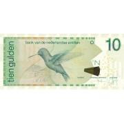 Nyderlandų Antilai. 2016 m. 10 guldenų. UNC