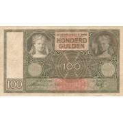 Nyderlandai. 1940 m. 100 guldenų