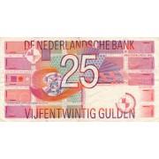 Nyderlandai. 1989 m. 25 guldenai