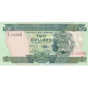 Solomonų Salos. 1997 m. 2 doleriai. P18. UNC
