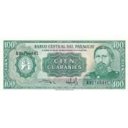 Paragvajus. 1982 m. 100 guaranių