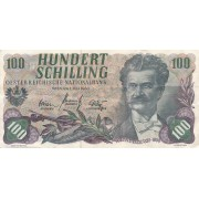 Austrija. 1960 m. 100 šilingų