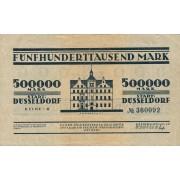Vokietija / Diuseldorfas. 1923 m. 500.000 markių