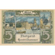 Klaipėda. 1922 m. 5 markės. XF+