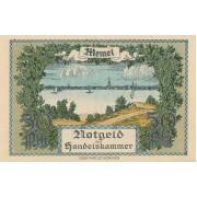 Klaipėda. 1922 m. 1/2 markės. 5 skaičiai. aUNC
