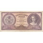 Vengrija. 1946 m. 1.000.000.000 pengo