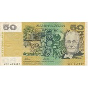 Australija. 1973-1994 m. 50 dolerių. P47h