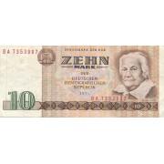 Vokietija / VDR. 1971 m. 10 markių