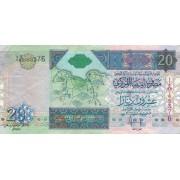 Libija. 2002 m. 20 dinarų. P67b