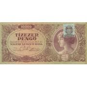 Vengrija. 1945 m. 10.000 pengo