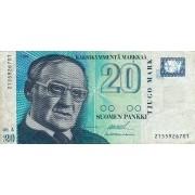 Suomija. 1993 m. 20 markių