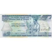 Etiopija. 2008 m. 5 birr