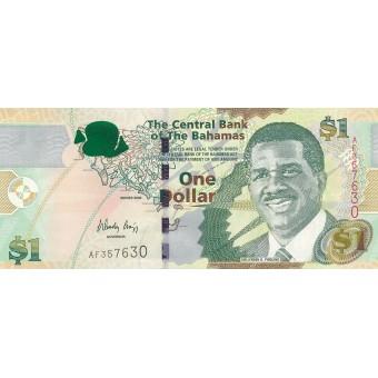 Bahamai. 2008 m. 1 doleris. P71. UNC