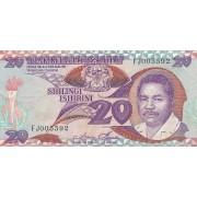 Tanzanija. 1986 m. 20 šilingų. P15