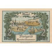 Klaipėda. 1922 m. 2 markės