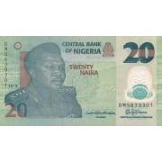 Nigerija. 2018 m. 20 nairų