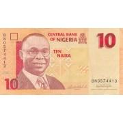 Nigerija. 2006 m. 10 nairų