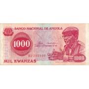 Angola. 1976 m. 1.000 kvanzų
