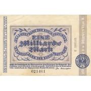 Vokietija / Diuseldorfas. 1923 m. 1.000.000.000 markių