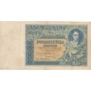 Lenkija. 1931 m. 20 zlotų