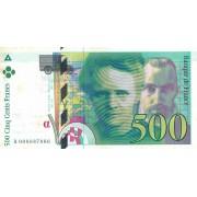 Prancūzija. 1994 m. 500 frankų