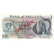 Šiaurės Airija. 1978 m. 1 svaras. PAVYZDYS. UNC
