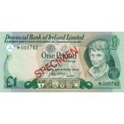 Šiaurės Airija. 1977 m. 1 svaras. PAVYZDYS. UNC