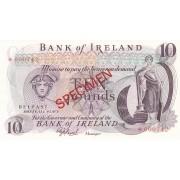 Šiaurės Airija. 1978 m. 10 svarų. PAVYZDYS. UNC