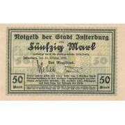 Įsrutis. 1922 m. 50 markių. RETAS