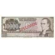 Paragvajus. 1979 m. 10.000 guaranių. PAVYZDYS. UNC