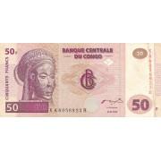 Kongo Demokratinė Respubika. 2000 m. 50 frankų