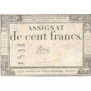 Prancūzija. 1795 m. 100 frankų