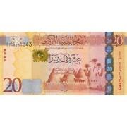 Libija. 2013 m. 20 dinarų. P79