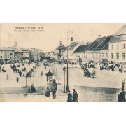 Vilnius. 1908 m. Didžioji gatvė