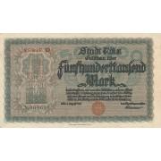 Vokietija / Kelnas. 1923 m. 500.000 markių