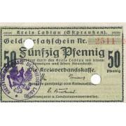 Labguva. 1918-1921 m. 50 pfennigų