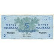Suomija. 1963 m. 5 markės