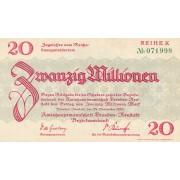 Vokietija / Dresdenas Noištatas. 1923 m. 20.000.000 markių