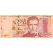 Venesuela. 2006 m. 50.000 bolivarų