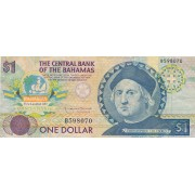 Bahamai. 1992 m. 1 doleris