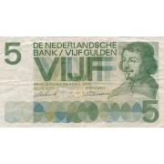 Nyderlandai. 1966 m. 5 guldenai