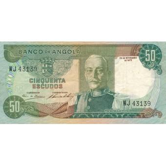 Angola. 1972 m. 50 eskudų